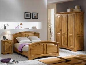 Dormitor stejar - Auvergnate